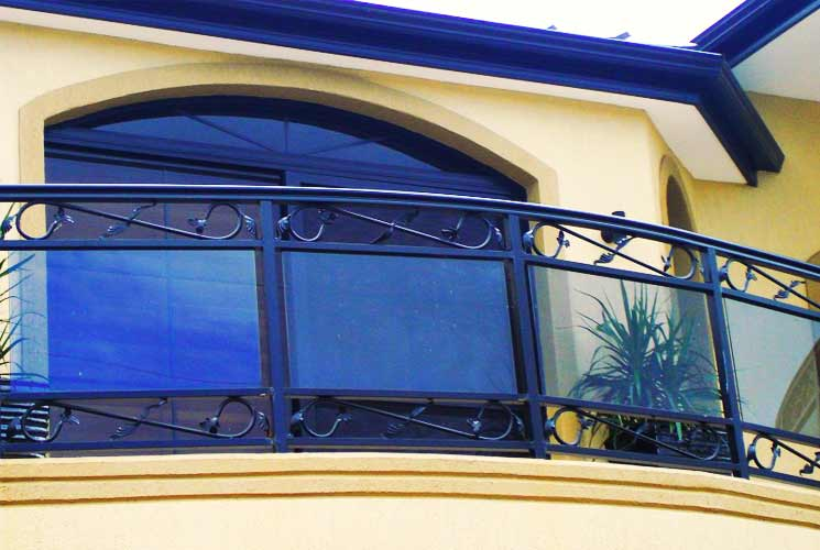Black Swamp Glass Railings