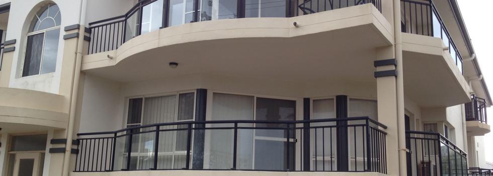 Aluminium balustrades 115