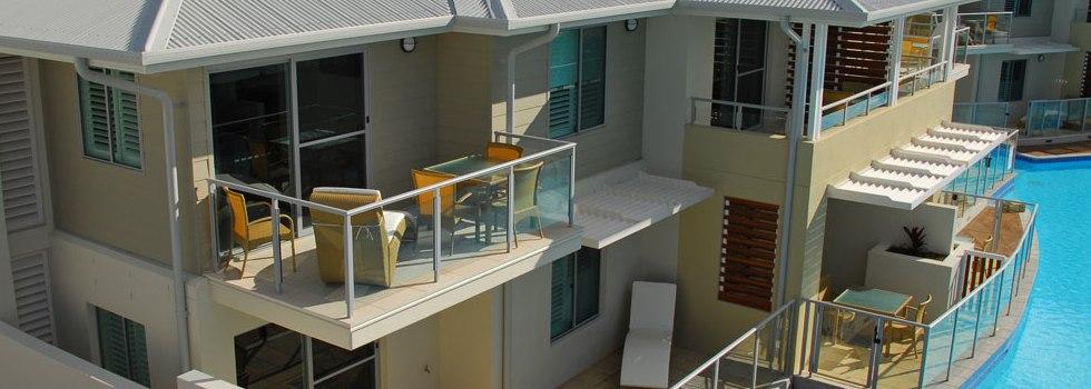 Aluminium balustrades 122