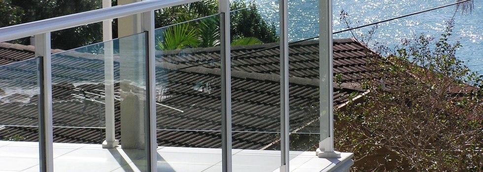 Aluminium balustrades 123