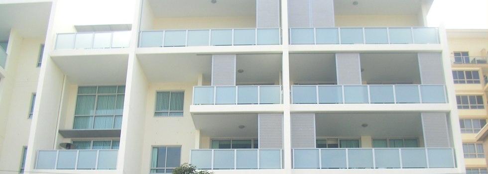 Aluminium balustrades 135