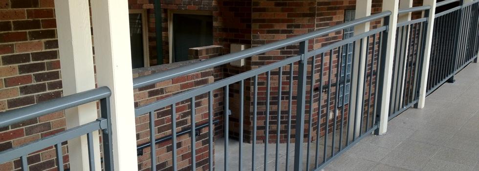 Aluminium balustrades 163