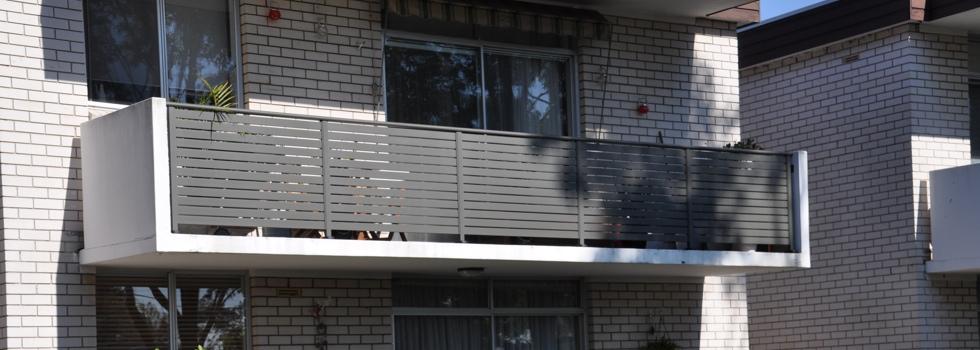 Aluminium balustrades 22
