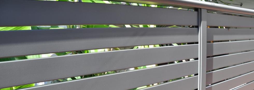Aluminium balustrades 31
