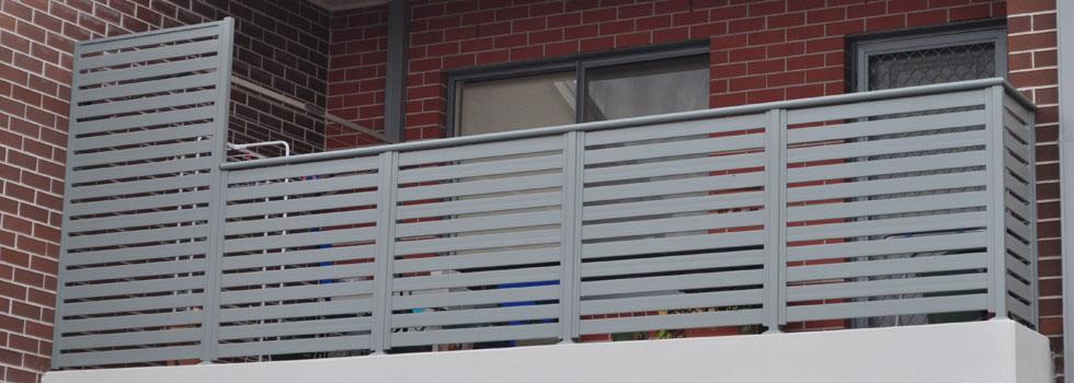Aluminium balustrades 57