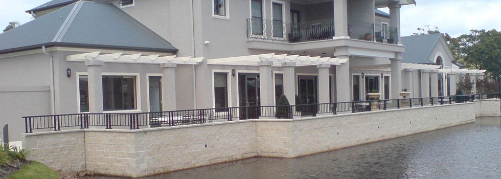 Kwikfynd Aluminium balustrades 60