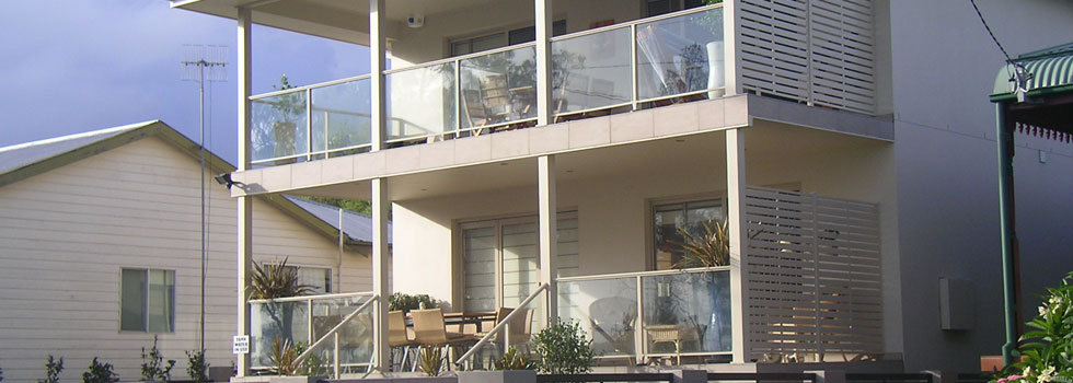 Aluminium balustrades 70