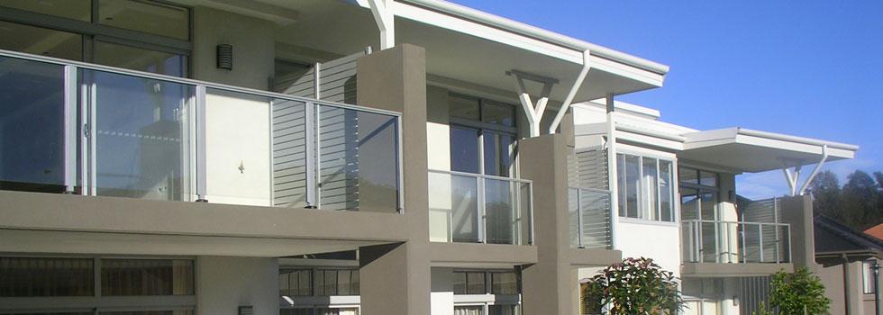 Aluminium balustrades 74