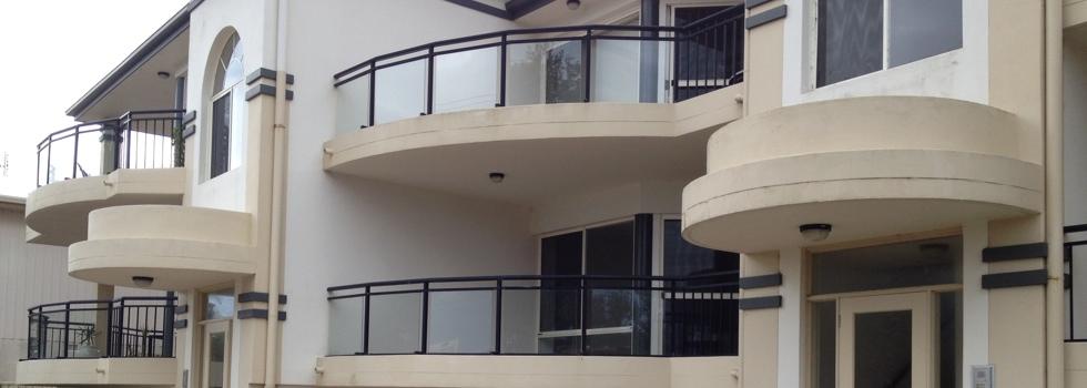 Aluminium railings 14
