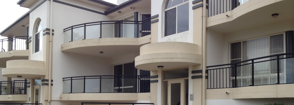 Aluminium railings 15