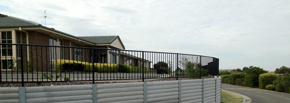 Kwikfynd Aluminium railings 151
