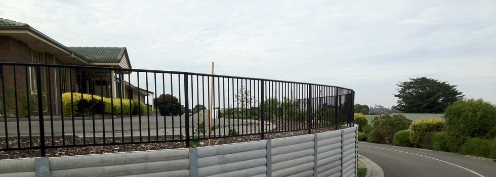 Kwikfynd Aluminium railings 152