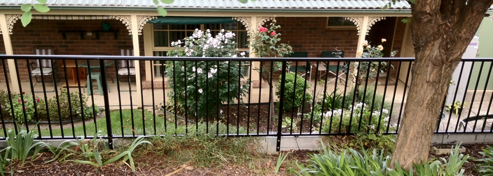 Aluminium railings 153