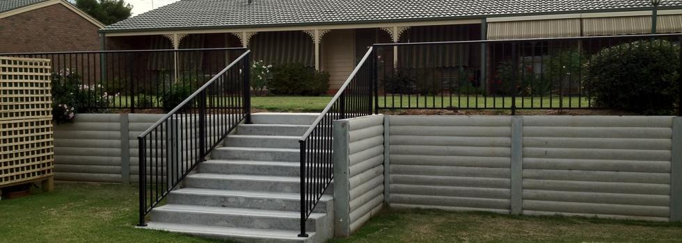 Kwikfynd Aluminium railings 154