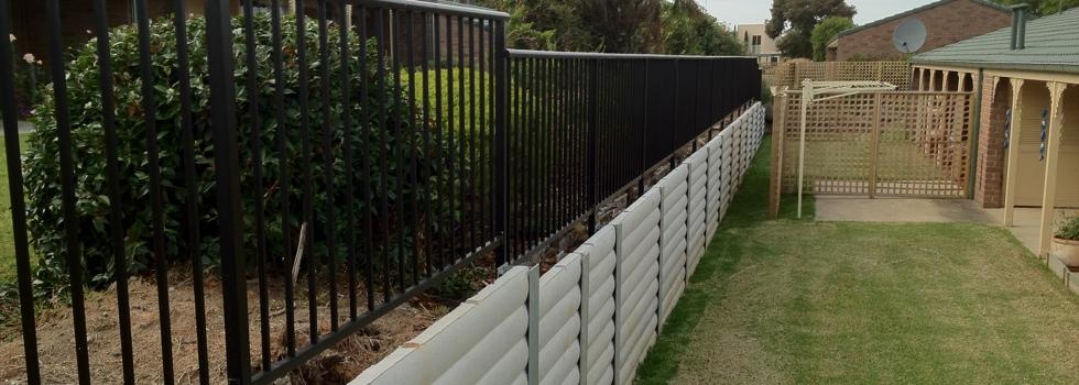 Kwikfynd Aluminium railings 156
