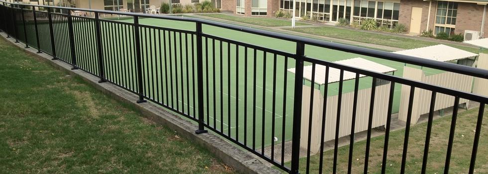 Kwikfynd Aluminium railings 158