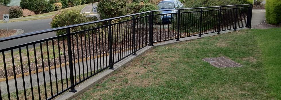 Kwikfynd Aluminium railings 161
