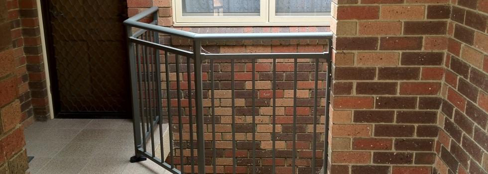 Aluminium railings 166