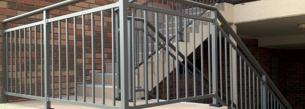 Aluminium railings 169