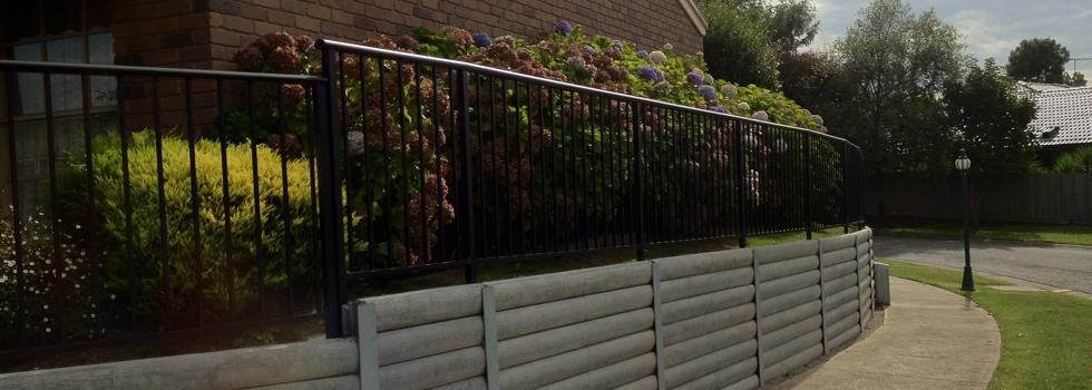 Kwikfynd Aluminium railings 172