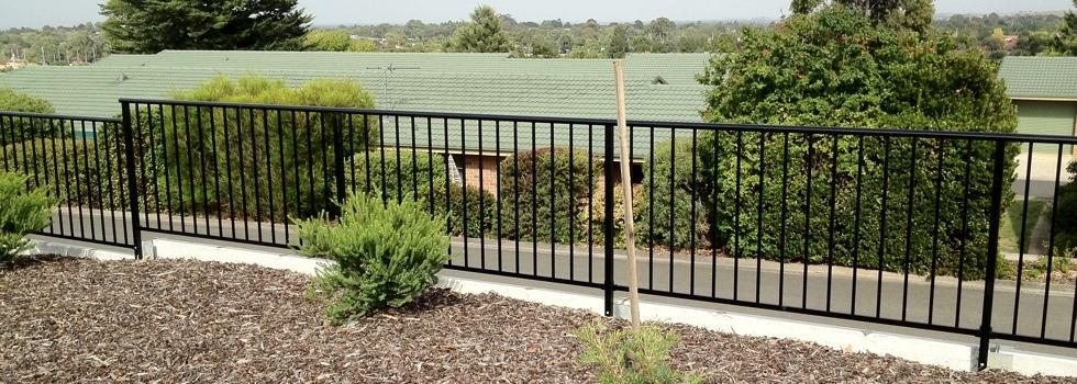 Kwikfynd Aluminium railings 173