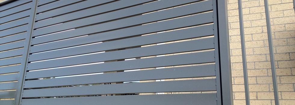 Aluminium railings 176