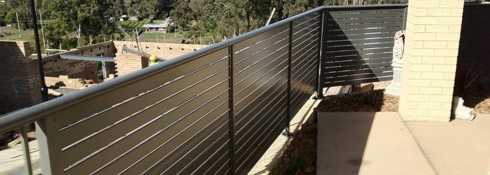 Kwikfynd Aluminium railings 178