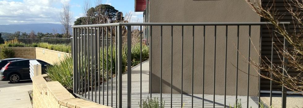 Kwikfynd Aluminium railings 192