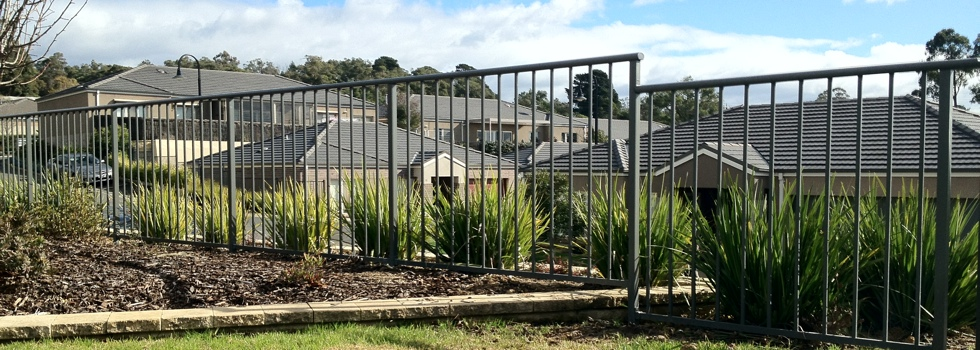 Aluminium railings 196