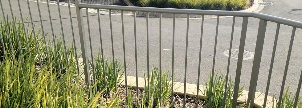 Aluminium railings 198