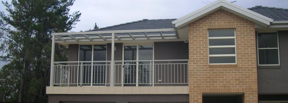 Kwikfynd Aluminium railings 204