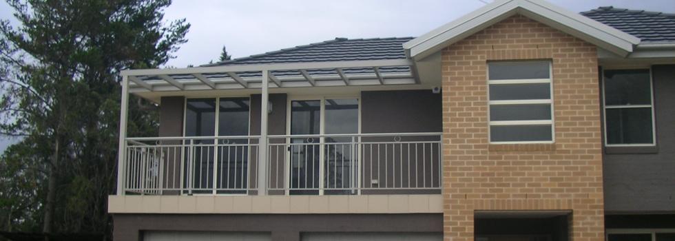 Aluminium railings 207