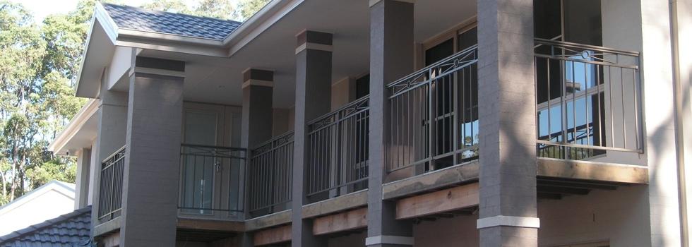 Aluminium railings 214