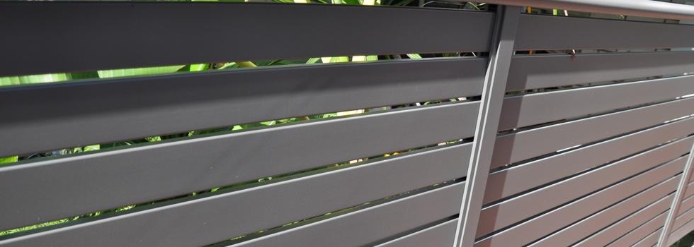 Aluminium railings 30