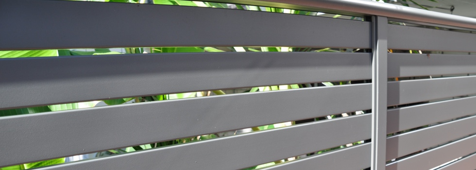 Aluminium railings 31