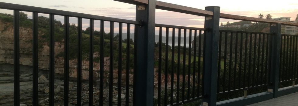 Kwikfynd Aluminium railings 5