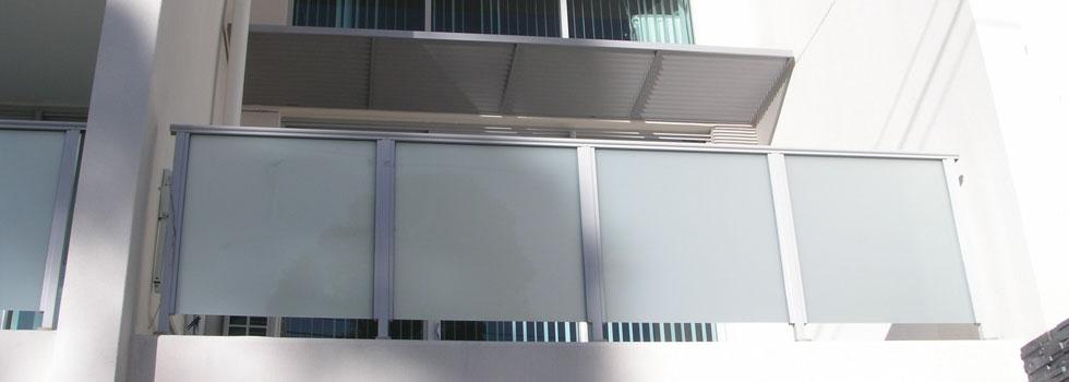 Aluminium railings 54