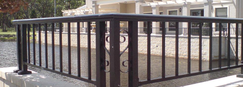 Kwikfynd Aluminium railings 58