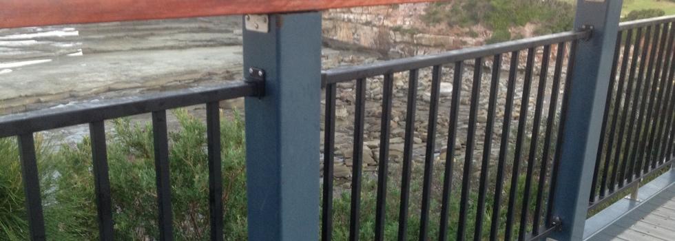 Kwikfynd Aluminium railings 6