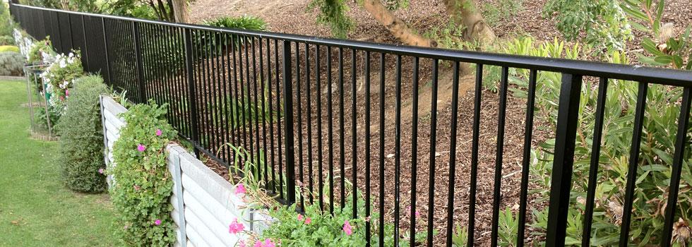 Aluminium railings 61