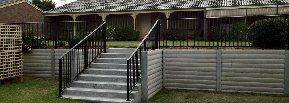 Kwikfynd Aluminium railings 65