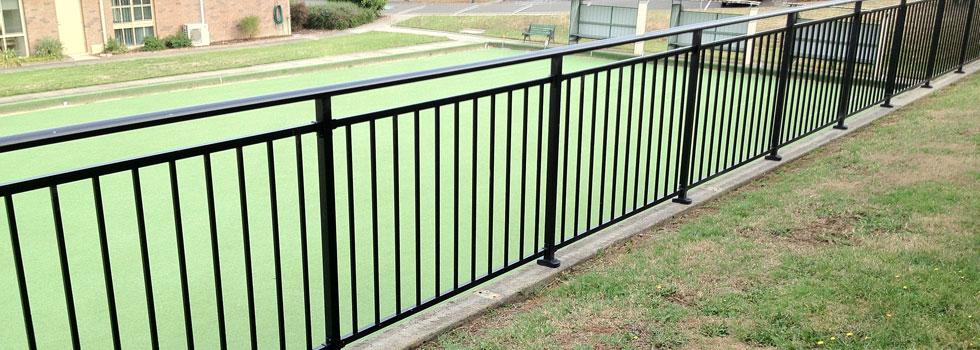 Aluminium railings 66