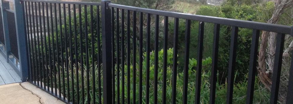 Aluminium railings 7