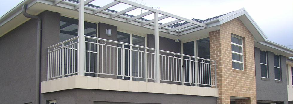 Aluminium railings 72