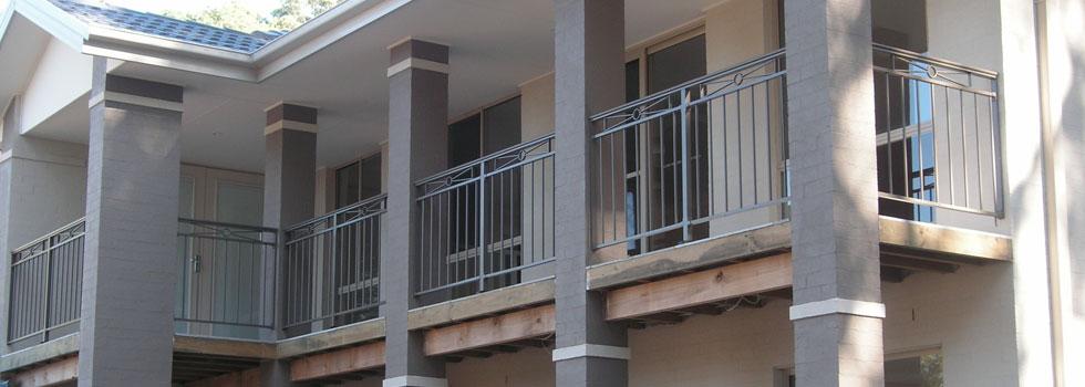 Kwikfynd Aluminium railings 73