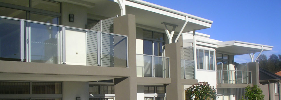 Aluminium railings 74