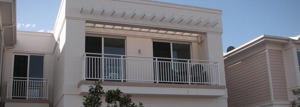 Aluminium railings 75