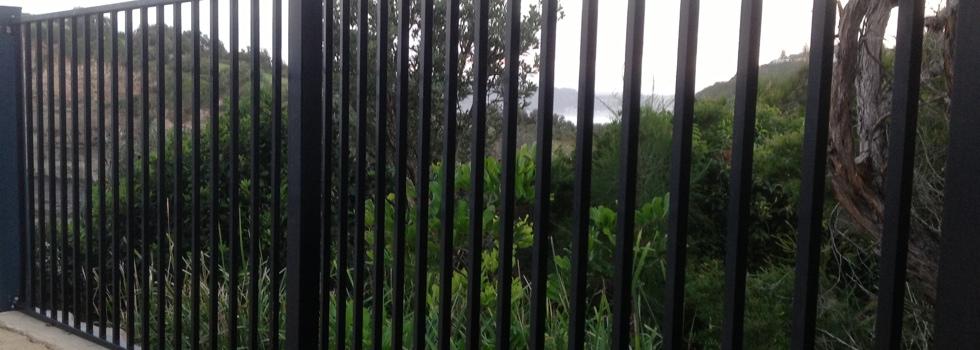Aluminium railings 8