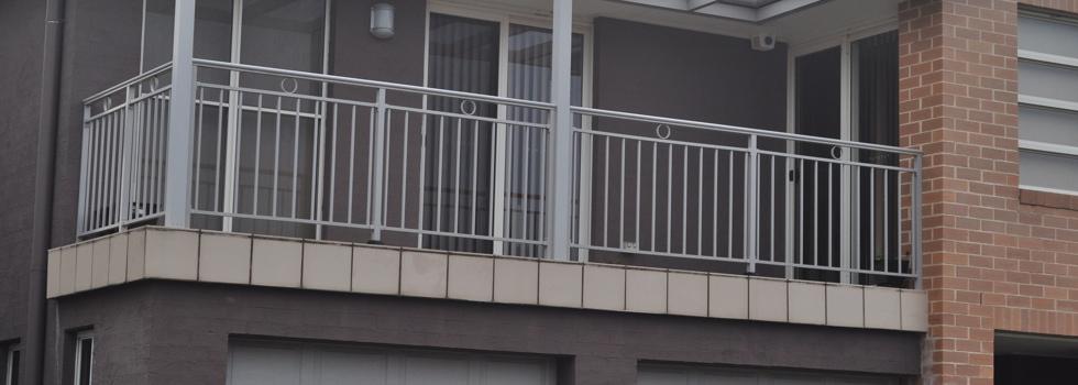 Kwikfynd Aluminium railings 82