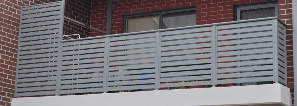 Kwikfynd Aluminium railings 85